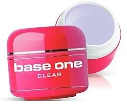 Kup Bezbarwny żel do paznokci - Silcare Base One Clear