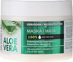 Kup Intensywnie regenerująca maska odbudowująca do włosów - Dr. Sante Aloe Vera