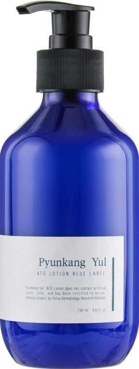 Profesjonalny nawilżający lotion-emulsja z wyciągiem z wiciokrzewu - Pyunkang Yul Ato Lotion Blue Label — фото N2