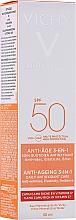 Kup Przeciwsłoneczny krem do twarzy z antyoksydantami SPF 50 - Vichy Idéal Soleil Anti-Ageing 3-in-1 Antioxidant Care