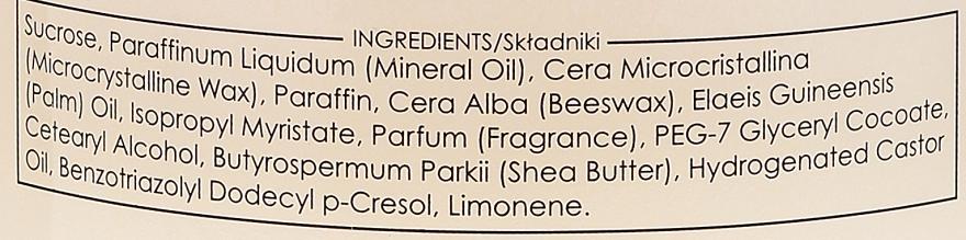 Karmelizowany peeling cukrowy Nadziewane pralinki - Ziaja Pielęgnacyjny przysmak Czekoladowy miszmasz — фото N3