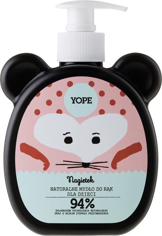 Naturalne mydło do rąk dla dzieci - Yope Nagietek