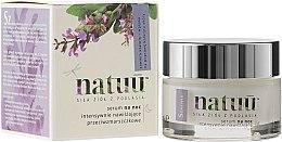 Kup Intensywnie nawilżające przeciwzmarszczkowe serum na noc z ekstraktem z szałwii czerwonej - Natuu Smooth & Lift