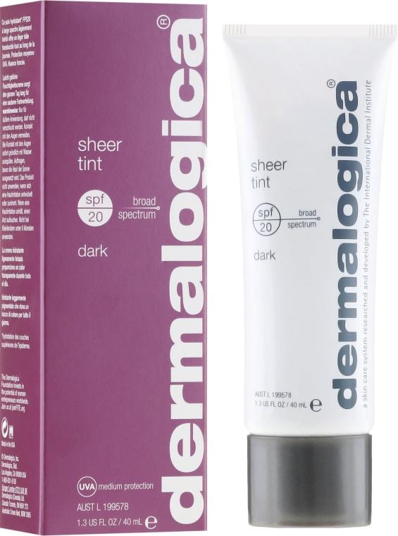 Delikatnie kryjący preparat nawilżający do twarzy SPF 20 - Dermalogica Daily Skin Health Sheer Tint — фото N1