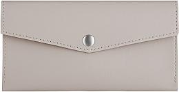 Kup Beżowa torebka-kopertówka - Makeup Envelope Wallet Taupe