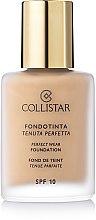 Kup Podkład w kremie SPF 10 - Collistar Perfect Wear Foundation