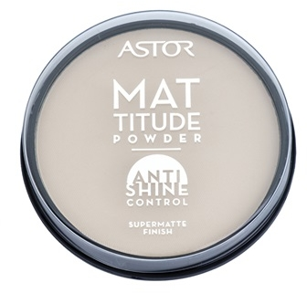 Puder do twarzy - Astor Mattitude Anti Shine Powder