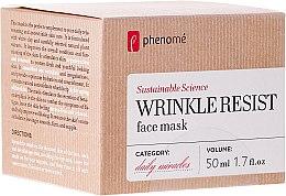 Kup Odmładzająca maska do twarzy - Phenomé Wrinkle Resist Face Mask