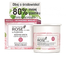 Kup Różany krem odmładzający na dzień - Floslek Rose For Skin Rose Rejuvenating Rose Cream (wymienny wkład)
