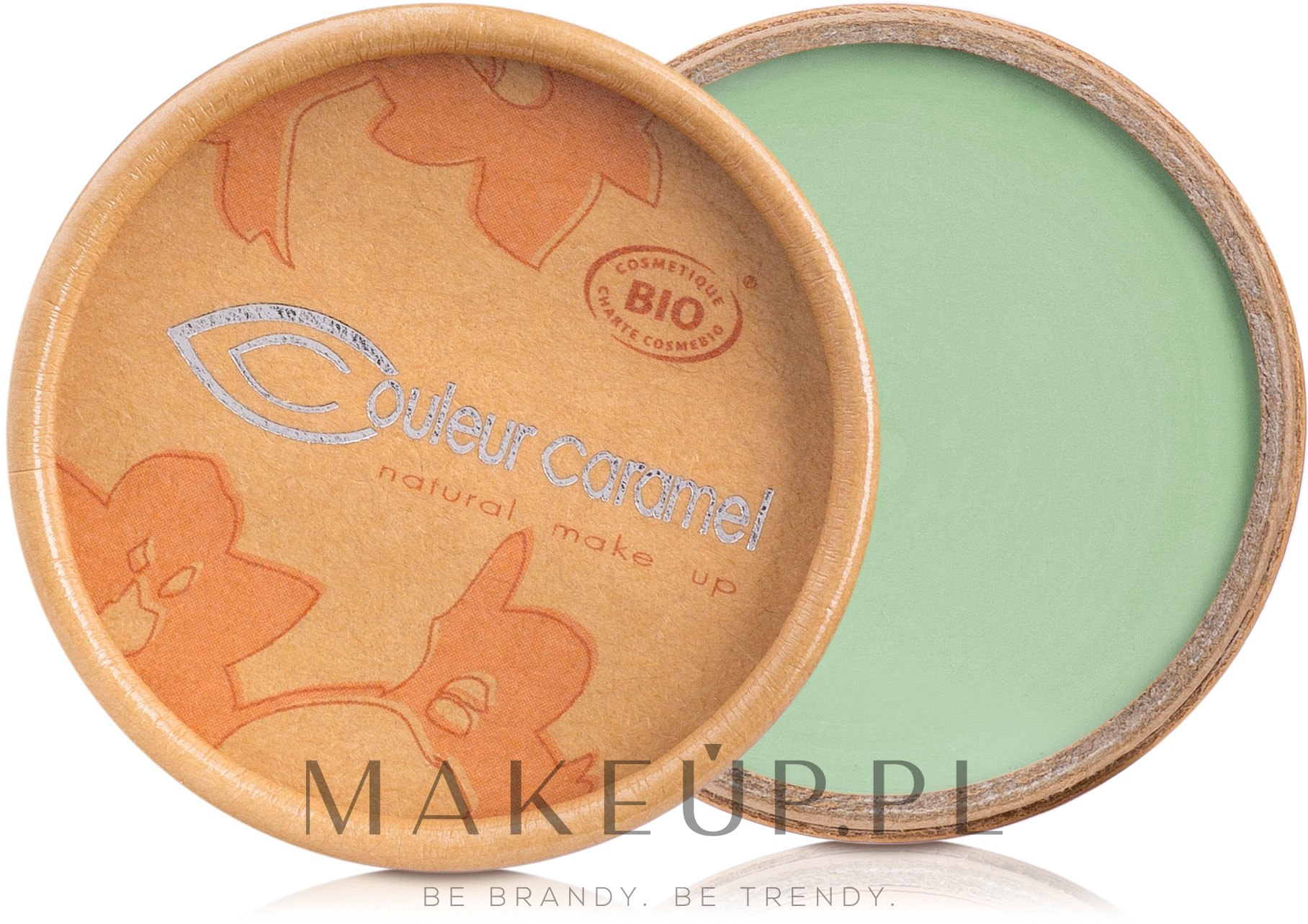 Zielony krem korygujący - Couleur Caramel Corrective Cream — фото 16 - Redness Concealer Green
