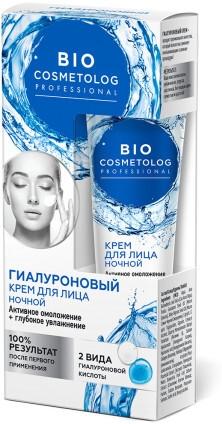 Diamentowy krem do twarzy na noc - FitoKosmetik BioCosmetolog Prof — фото N1