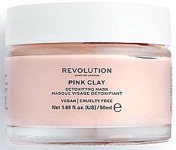 Kup Detoksykująca maska z glinką różową do twarzy - Makeup Revolution Skincare Pink Clay Detoxifying Face Mask