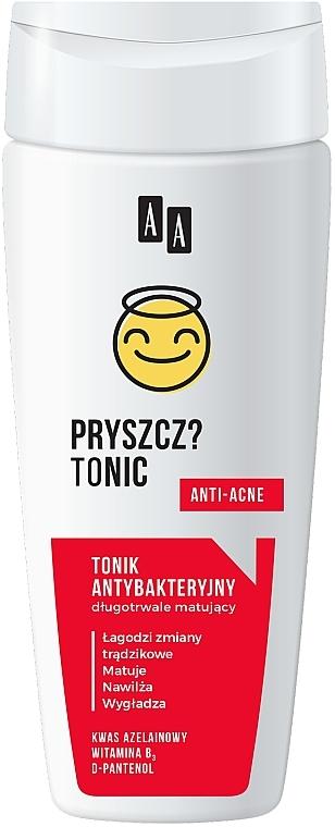 Długotrwale matujący tonik antybakteryjny Pryszcz? Tonic - AA Emoji