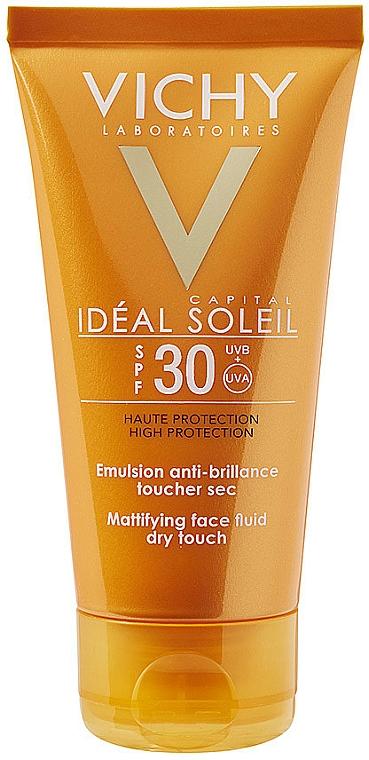Przeciwsłoneczna emulsja matująca - Vichy Capital Soleil SPF 30 Emulsion Mattifying Face Fluid Dry Touch — фото N1