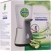 Kup Bezdotykowy aplikator mydła w płynie - Dettol Aloe Vera&Vitamin E
