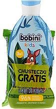 Kup Zestaw - Bobini Kids Set (shm/gel 330 ml + 15 x wet/wipes)