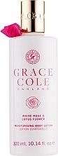 Kup Nawilżający balsam do ciała Biała róża i kwiat lotosu - Grace Cole White Rose & Lotus Flower Body Lotion