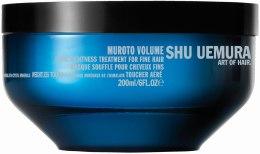 Kup Maska zwiększająca objętość włosów - Shu Uemura Art of Hair Muroto Volume Pure Lightness Treatment