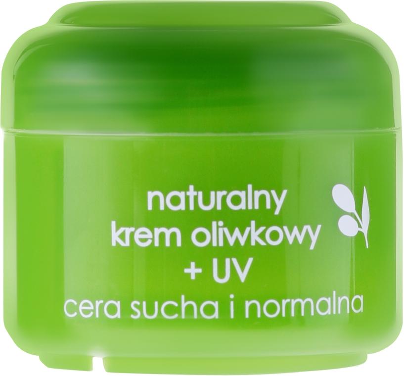Naturalny krem oliwkowy + UV do cery suchej i normalnej - Ziaja Oliwkowa