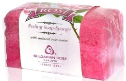 Kup Gąbka-mydło peelingujące - Bulgarian Rose Peeling Soap-Sponge