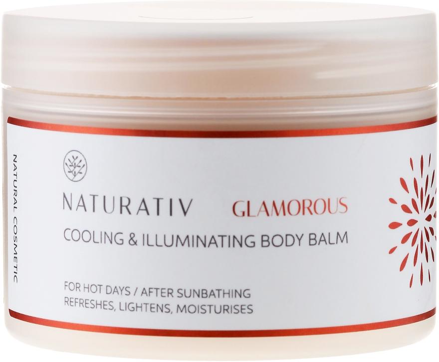 Chłodząco-rozświetlający balsam do ciała - Naturativ Glamorous — фото N1