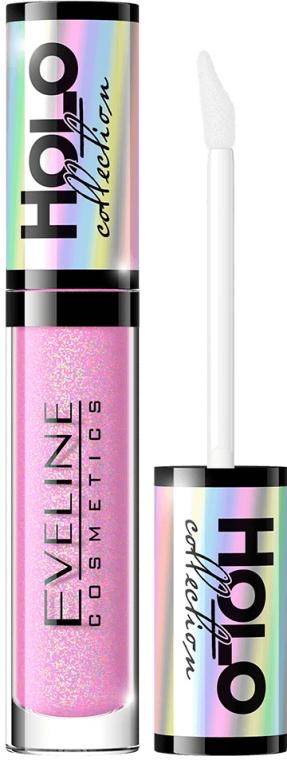 Holograficzny błyszczyk do ust - Eveline Cosmetics Holo Collection