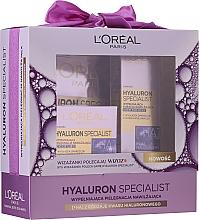 Kup Zestaw - L'Oreal Paris Hyaluron Specialist (cr 50 ml + eye/cr 15 ml + mask 30 g)