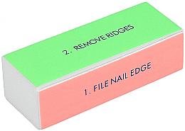 Kup 4-stopniowa polerka do paznokci, szeroki - Tools For Beauty 4-way Nail Buffer Block