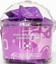 Kup Oczyszczająca pianka do twarzy z kolagenem - Ayoume Enjoy Mini Collagen Cleansing Foam