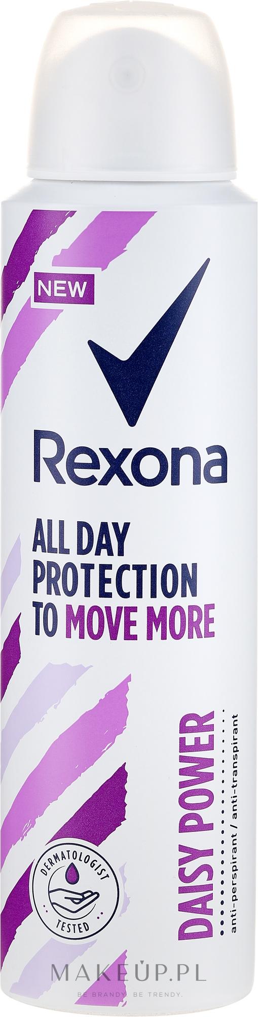 Antyperspirant w sprayu - Rexona Daisy Power Antiperspirant Deodorant — фото 150 ml