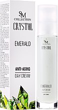 Kup Przeciwstarzeniowy krem na dzień Szmaragd - SM Collection Crystal Emerald Anti-Aging Face Day Cream