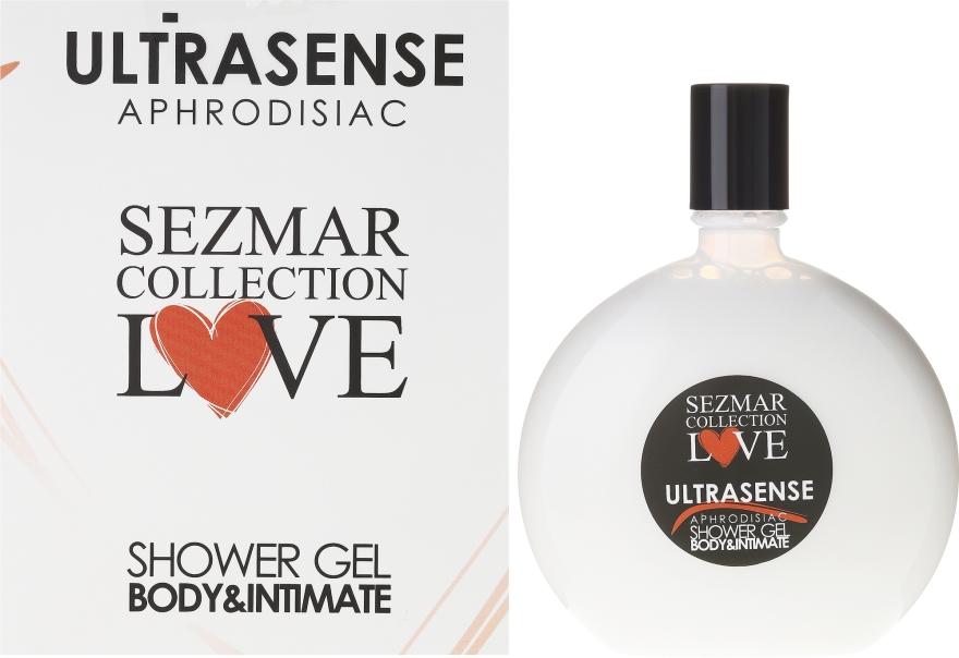 Afrodyzjakowy żel pod prysznic i do higieny intymnej - Sezmar Collection Love Ultrasense Aphrodisiac Body & Intimate Shower Gel — фото N1