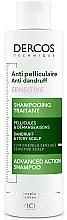Kup Przeciwłupieżowy szampon z dwusiarczkiem selenu do skóry wrażliwej - Vichy Dercos Anti-Dandruff Sensitive Shampoo