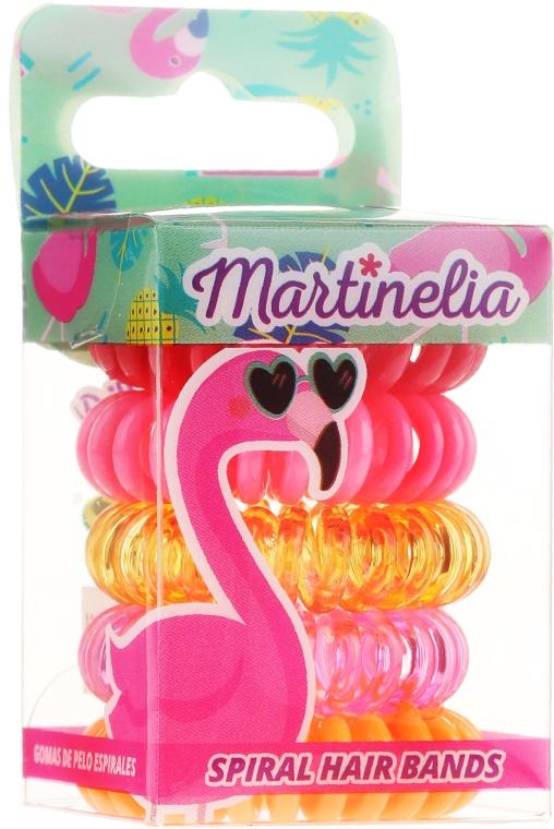 Gumki do włosów, Faming, 5 szt. - Martinelia — фото N1