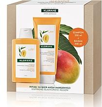 Kup Zestaw - Klorane Mango (shm/200ml + balm/200ml)