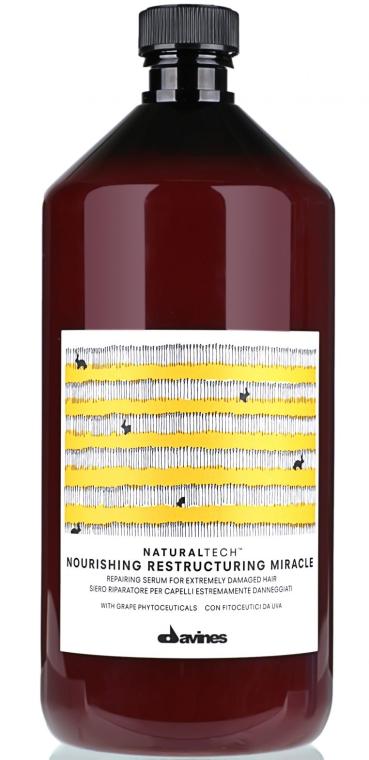 Odbudowujące serum do bardzo zniszczonych włosów - Davines Natural tech Nourishing RM — фото N1