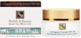 Kup Kolagenowy krem ujędrniający - Health And Beauty Collagen Firming Cream SPF 20