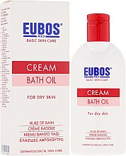 Kup Kremowy olejek do kąpieli do skóry suchej - Eubos Med Basic Skin Care Cream Bath Oil For Dry Skin