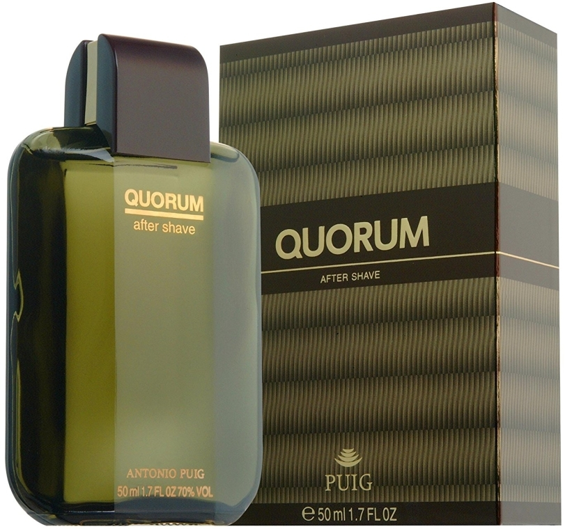 Antonio Puig Quorum - Łagodząca woda po goleniu — фото N1