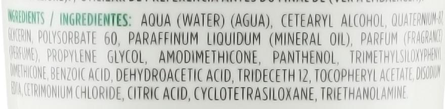 Nawilżająca odżywka do włosów normalnych i suchych Migdał i pistacja - Naturalium Almond & Pistachio Moisturizing Conditioner — фото N3
