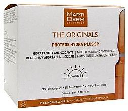 Kup Ampułki nawilżające i wygładzające zmarszczki do twarzy - MartiDerm The Originals Proteos Hydra Plus SP