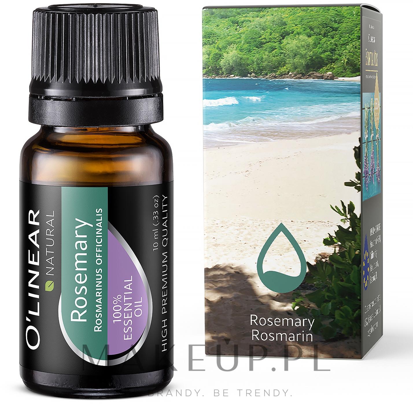 Olejek eteryczny z rozmarynu - O`linear Rosemary Essential Oil  — фото 10 ml