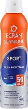 Kup Spray z wysoką ochroną przeciwsłoneczną dla osób aktywnych z filtrem SPF 50 - Ecran Sun Lemonoil Sport Spray Invisible