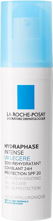 Intensywnie nawilżający krem do twarzy (SPF 20) - La Roche-Posay Hydraphase UV Intense Legere Long Lasting Intense Rehydration SPF20