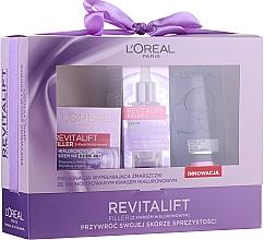 Kup Zestaw - L'Oreal Paris Revitalift Filler (d/cr 50 ml + serum 30 ml + micell 200 ml)
