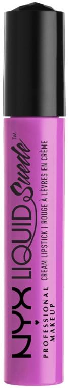 Pomadka w płynie do ust - NYX Professional Makeup Liquid Suede Cream Lipstick