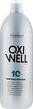 Kup Emulsja utleniająca do włosów 3% - Kosswell Professional Oxidizing Emulsion Oxiwell 3% 10vol