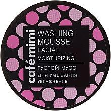 Kup Gęsty nawilżający mus do mycia twarzy - Café Mimi Washing Mousse Facial Moisturizing