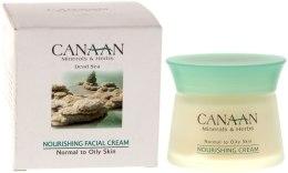 Kup Odżywczy krem do skóry normalnej i tłustej - Canaan Minerals & Herbs Nourishing Facial Cream Normal to Oily Skin