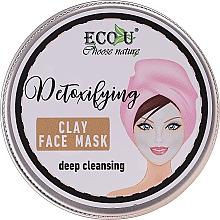 Kup Detoksykująca głęboko oczyszczająca maska glinkowa do twarzy - Eco U Detoxifying Deep Cleansing Clay Face Mask